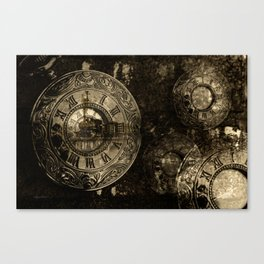 Time for the Train Canvas Print
