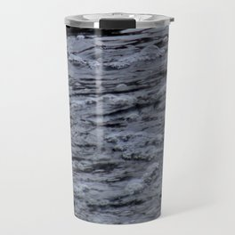 Bubbles on the water Travel Mug