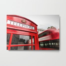 Iconic London Metal Print