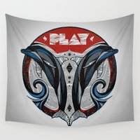 play Wall Tapestries featuring Play by Andreas Preis