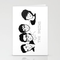 smiths Stationery Cards featuring The Smiths by ☿ cactei ☿