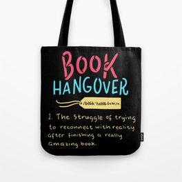 Book Hangover Tote Bag