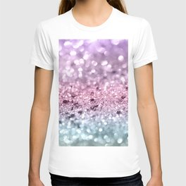 Unicorn Girls Glitter #7 #shiny #pastel #decor #art #society6 T-shirt
