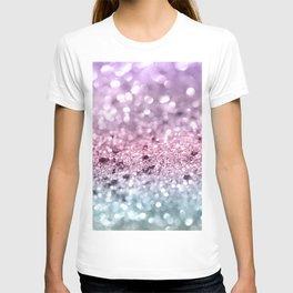 Unicorn Girls Glitter #7 #shiny #pastel #decor #art #society6 T-shirt