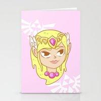 zelda Stationery Cards featuring  Zelda  by HypersVE