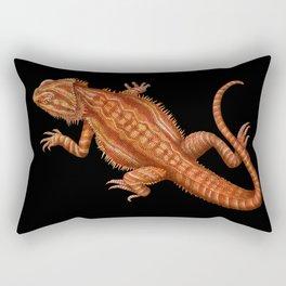 Bearded Dragon 2 Rectangular Pillow