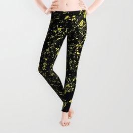 Black and Yellow Leggings