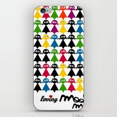 mooimooi girls iPhone & iPod Skin