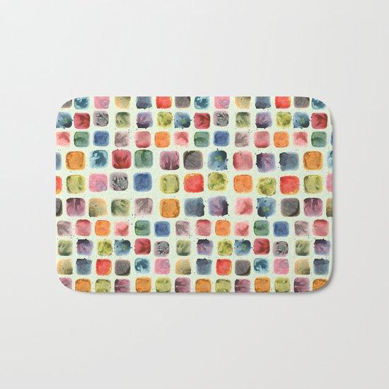 Colors in Suspension Bath Mat