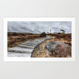 Most Easterly Lighthouse Art Print