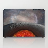 the moon iPad Cases featuring Moon by Baris erdem