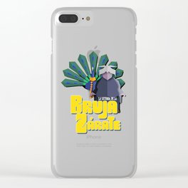 The legend of the Zarate Witch Clear iPhone Case