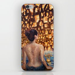 Night of One Thousand Lights iPhone Skin