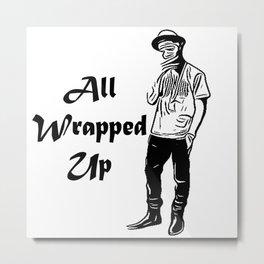 Issa Wrap! Metal Print