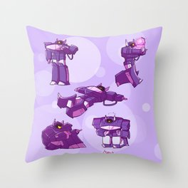 Shockwaves! Throw Pillow