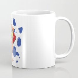 Girl in the Heat of Summer with a BEer Coffee Mug