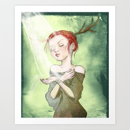 Sweet Sunlight Art Print