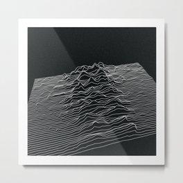 VIBES Metal Print