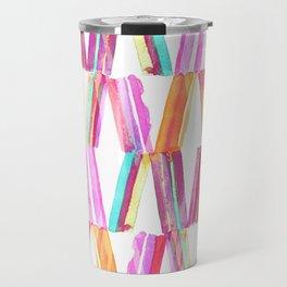 Ice Cream Stripe Travel Mug