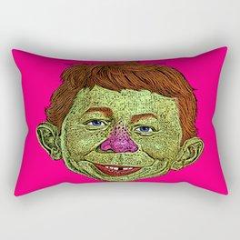 Alfred E. Newman MAD Rectangular Pillow