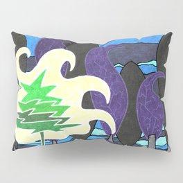 Le sapin et la foret Pillow Sham