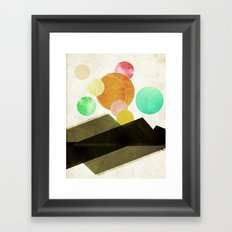 Unclaimed Mountain #1 Framed Art Print