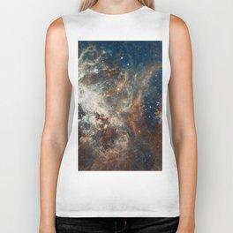 Space Art - Hubble Telescope - Nebula Biker Tank