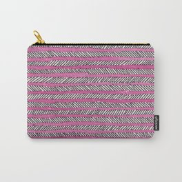 Arrow - Pink Carry-All Pouch