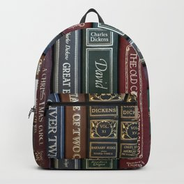 Dickens Books Backpack