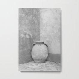 Earthen Vessel Metal Print