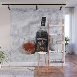 Ice Cold Captain Morgan Rum Wall Mural