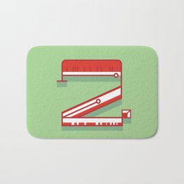 Alphabet Drop Cap Series- 2 Bath Mat