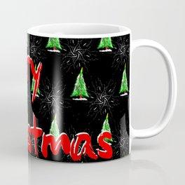 Merry Christmas Pattern Coffee Mug