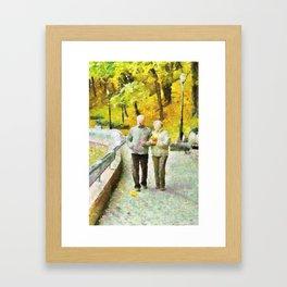 O Passeio Framed Art Print