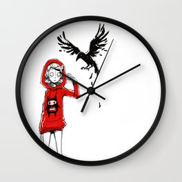 A little Friend Wall Clock