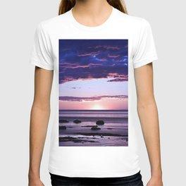 Coastal Sunset Sainte-Anne-Des-Monts T-shirt
