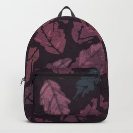 Abstract leaf painting II Backpack