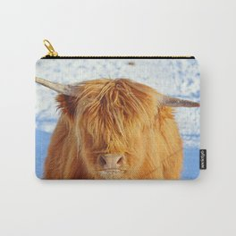 Disgruntled Calf Carry-All Pouch