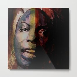 Nina Simone     Sinnerman Metal Print