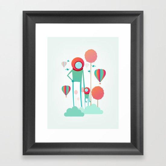 Cosmic Care Framed Art Print