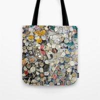 bubblegum Tote Bags featuring bubblegum by ensemble creative