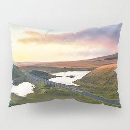 Vanishing Lakes,Ireland,Northern Ireland,Ballycastle Pillow Sham