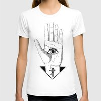 hamsa T-shirts featuring Hamsa by - KP -