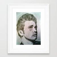 rebel Framed Art Prints featuring Rebel by Mea Culpa