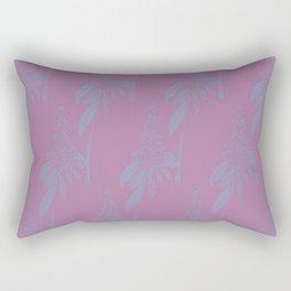 Blurred Flower Rectangular Pillow