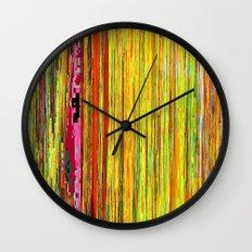 Pixelated Joy Wall Clock