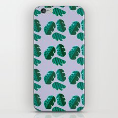 Monster tropical plants iPhone & iPod Skin