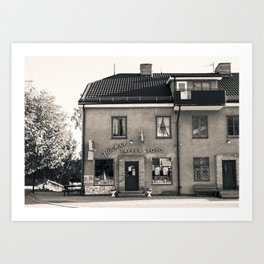 The Old Town Shop Art Print