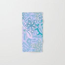 Polynesian TEAL Jungle Print Hand & Bath Towel