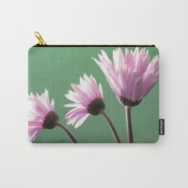 Rose  Gerbera Daisy Carry-All Pouch